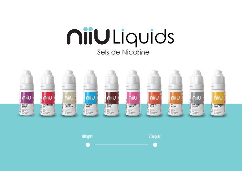 NIIU Salz Nikotin