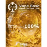 FOO - 100% Glycerin Vape Base